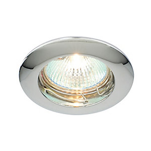 Saxby Classic Fixed Downlight Chrome