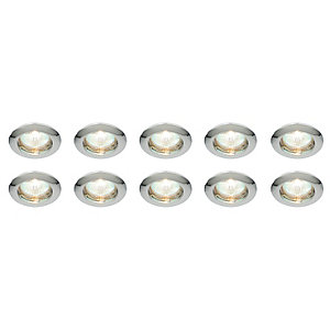 Saxby Classic Fixed Downlight Chrome 10 Pack