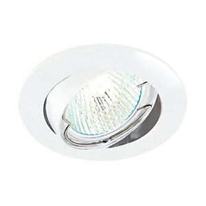 Saxby Classic Tilted Downlight White
