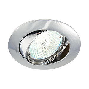 Saxby Classic Tilted Downlight Chrome