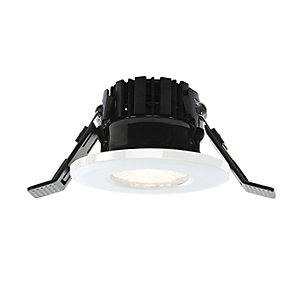 Shield LED 400 Integrated LED Downlight Fixed White