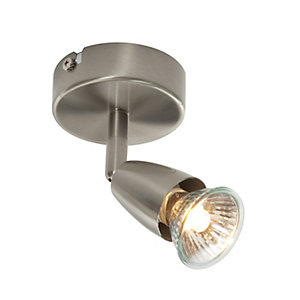 Saxby Amalfi Spotlights Satin Nickel Single