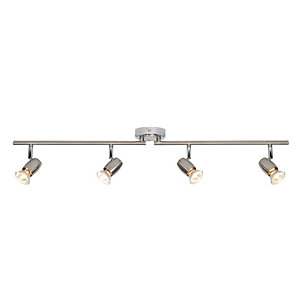 Saxby Palermo Spotlights Chrome 4 Bar