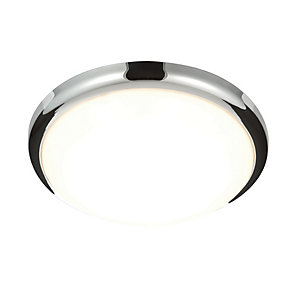 Saxby Delaware Integrated LED Chrome
