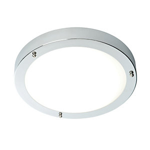 Saxby Portico Integrated LED Brushed Chrome