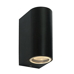 Doron Lantern Black Wall light