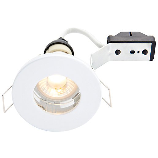 wickes led ip65 downlight white. Black Bedroom Furniture Sets. Home Design Ideas