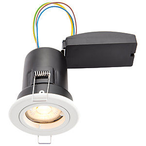 Wickes LED Premium Fire Rated Downlight White