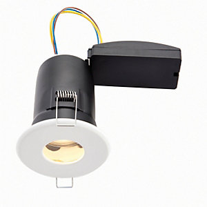 Wickes LED Fire Rated & IP65 Bathroom Downlight White