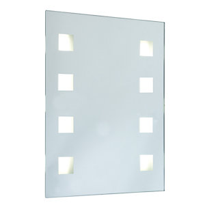Wickes Sienna Rectangular Mirror Light