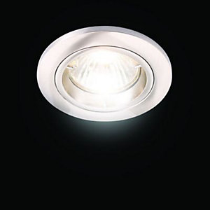 Fire Rated Fixed Downlight B/Chrome