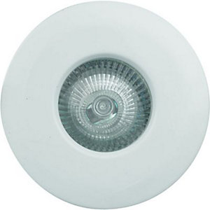Wickes Fire Rated Shower Fixed Downlight White