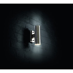 Wickes 35W Sherling Up And Down Wall Light