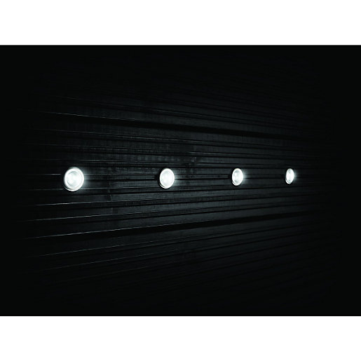 Outside Lights Wickes: Wickes White LED Deck Lights Extension Kit
