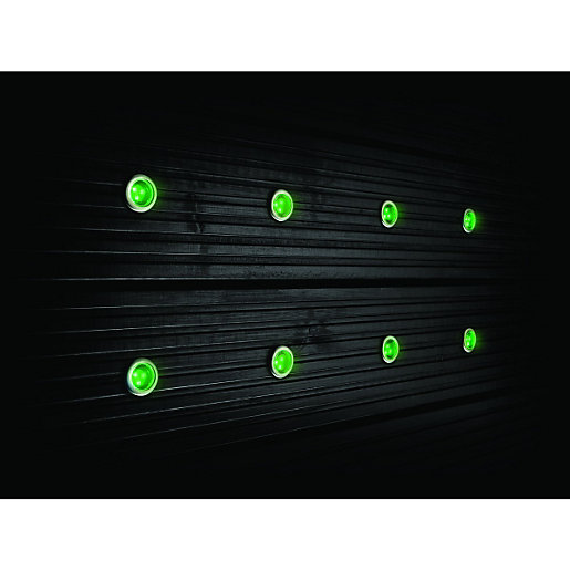 Outside Lights Wickes: Wickes Colour Changing LED Deck Light Kit
