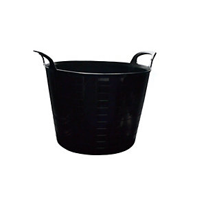 4Trade Builders Tub Black 40L