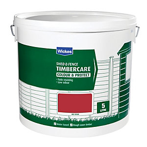 Wickes Shed & Fence Timbercare Red Cedar 5L