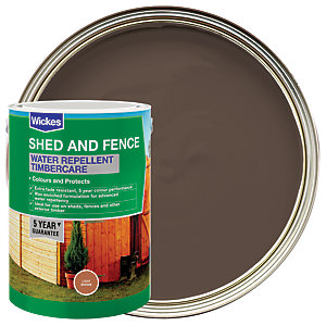 Wickes Wax Enriched Timbercare Light Brown 5L