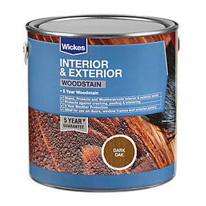 Wickes Professional Woodstain Dark Oak 750ml