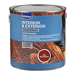 Wickes Professional Woodstain Red Mahogany 2.5L