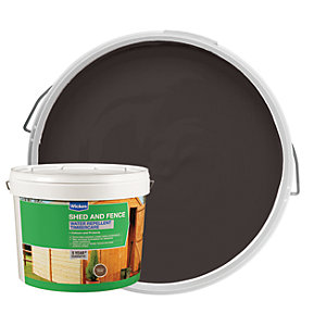 Wickes Wax Enriched Timbercare Chestnut Brown 10L