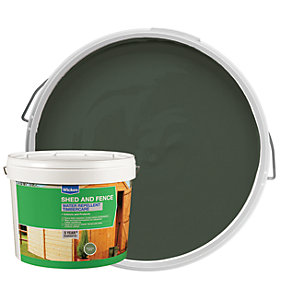 Wickes Wax Enriched Timbercare Sherwood Green 10L