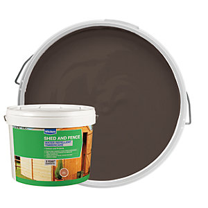 Wickes Wax Enriched Timbercare Light Brown 10L