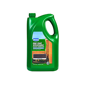 Wickes Spray & Protect Timbercare Chestnut Brown 5L