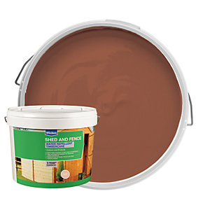 Wickes Wax Enriched Timbercare Golden Brown 10L