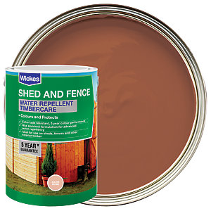 Wickes Water Repellent Timbercare Golden Brown 5L