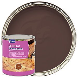 Wickes Decking Stain 2.5L Teak