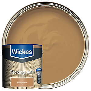 Wickes Decking Stain 2.5L Nearly Natural