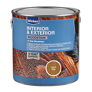 Wickes Professional Woodstain Light Oak 750ml