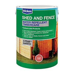 Wickes Water Repellent Timbercare Autumn Cedar 5L
