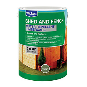 Wickes Water Repellent Timbercare Sherwood Green 5L