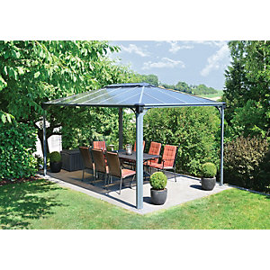 Palram Martinique Rectangular Garden Gazebo 3x4.3m