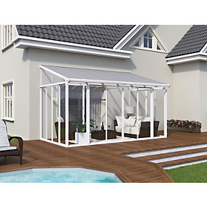 Palram San Remo Conservatory White 3x4.25m