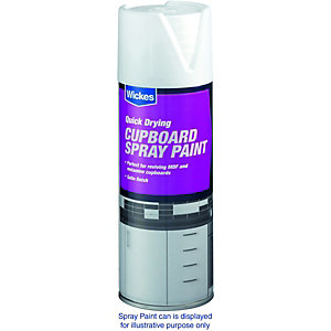Wickes Cupboard Spray Paint White 400ml