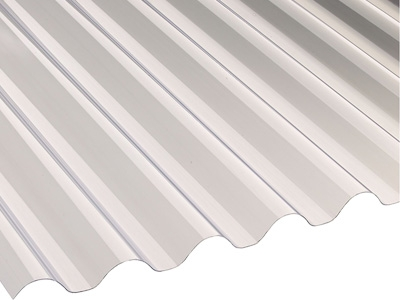 PVCu corrugated roofing sheets