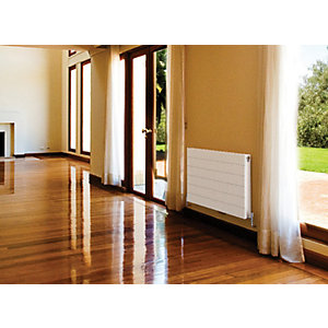 Qrl Ligna Decorative Panel Double Panel Plus Radiator H600 x L1000 White