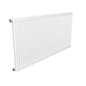 Quinn Round Top Single Convector Radiator 400mm x 1200mm