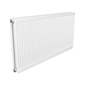 Quinn Round Top Double Panel Plus Radiator 400mm x 1000mm