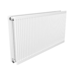Quinn Round Top Double Convector Radiator 400mm x 400mm