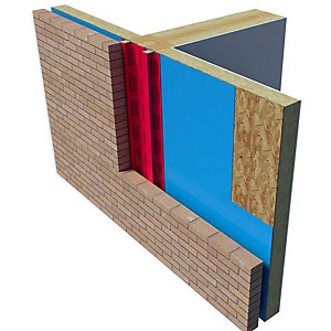 Rockwool Timber Cavity Barrier 120mm x 120mm x 1200mm
