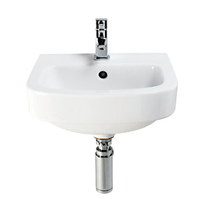 Wickes Phoenix Cloakroom Basin and Pelosa Toilet Pack