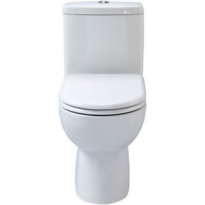 Wickes Phoenix Soft Close White Toilet Seat