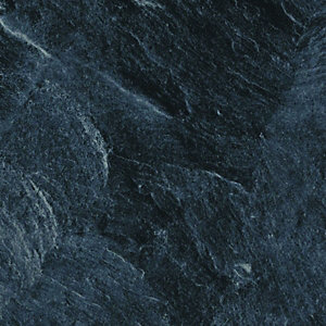 Wickes Bathroom Worktop Welsh Slate Gloss 600mm