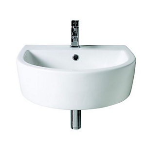 Wickes Style Cloakroom Basin 400mm