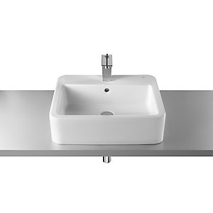 Roca 327576000 Element On countertop Basin 1 Tap Hole 550mm x 460mm