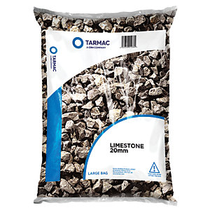 Wickes/Outdoors/Landscaping /Wickes Limestone Chippings Major Bag